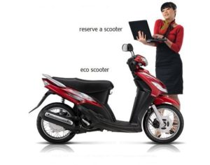 large eco scooter